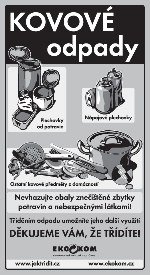 Třídění kovových odpadů