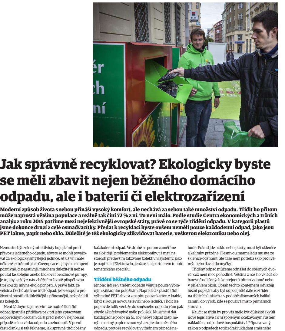 8e81bc3e48c3 Ekologicky byste se měli zbavit nejen běžného domácího odpadu